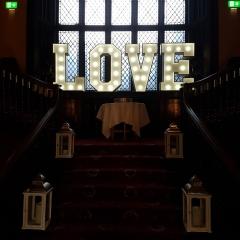 Kitley-House-wedding-letter-lights