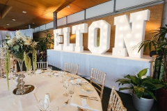 The Eden Project - Weddings and Events - Letter Lights
