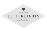 South West Letter Lights