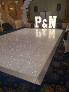 Lit Dance Floors for hire