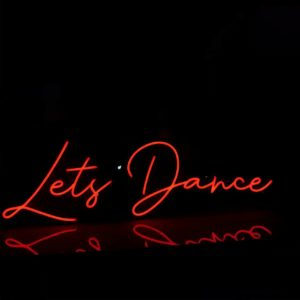 Lets Dance Neon Light