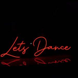 Lets Dance Neon Light