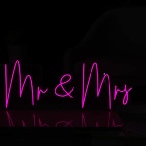 Mr & Mrs Neon Light