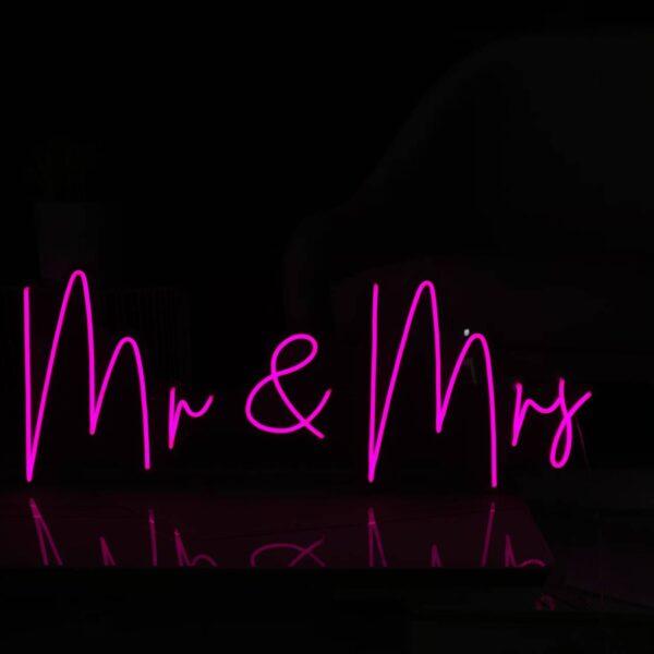 Mr & Mrs Neon Light